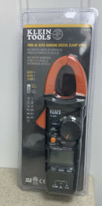 Klein Tools 400amp Ac Auto ranging Digital Clamp Meter Cl210 New