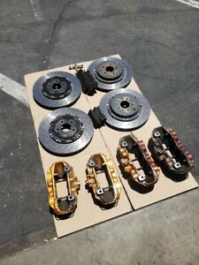 Nissan Gt R Brembo Calipers And Rotors Used Calipers Pads Rotors Hardware