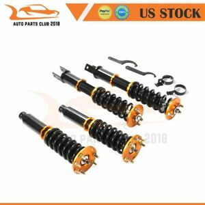 Full Set Coilovers For 2008 2012 Honda Accord Adjustable Height Shock Absorber
