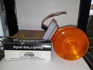 Signal stat 3853aa Yellow yellow Round 1 Bulb Dual Face 2 Wire