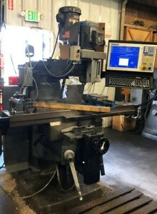 Bridgeport Series Ii Milling Machine With Centroid 3 axis Cnc Control