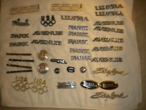 Buick Emblems Miscellaneous