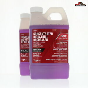 2 Concentrated Industrial Heavy Duty Cleaner Degreaser New