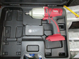 Matco Mcl2012hpiw 20v Cordless Infinium 1 2 High Performance Impact Wrench