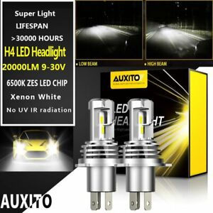 Auxito H4 9003 Led Headlight Kit 16000lm Hi low Beam Bulbs Super Bright Lamp Us1