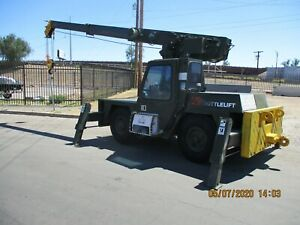 Suttlelift 17k Carrydeck Crane Model 3330e Only 1178 Hrs Diesel Very Nice Comd