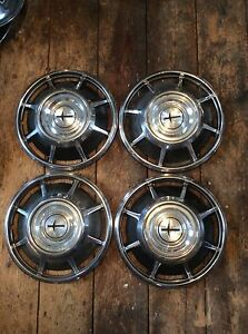 66 69 Chevy Corvair Monza 13 Hubcaps
