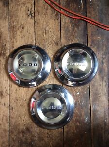 52 53 54 Ford Dogdish Poverty Hubcaps 10 1 2