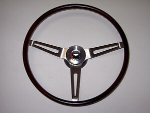 69 Chevelle El Camino Rosewood Wheel Complete