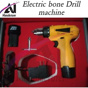 Orthopedic Electric Bone Drill Surgical Veterinary Speed Control