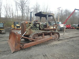 1988 Caterpillar D7g Crawler Dozer Nice Government Spec Ripper 3306 Di D7