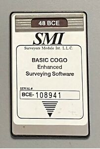 Smi Bce Surveying Card For Hp 48gx Calculator