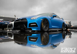 20 Bc Forged Gt r Gloss Brushed Dark Black Wheels With Toyo R888r Tires