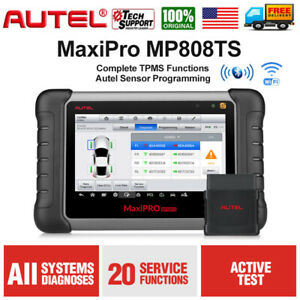 Autel Active Test Obdii Diagnostic Scan Tool Mp808ts Tpms Programming Key Coding