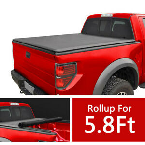 For 2007 2019 Chevy Silverado Gmc Sierra 5 8ft Short Bed Roll Up Tonneau Cover