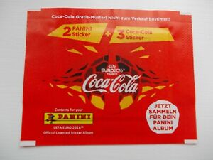 football stickers panini Euro 2016 Coca-Cola  x 1  unopened Packet