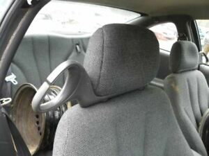 Right Passenger Headrest Black Cloth Coupe 1998 Sunfire