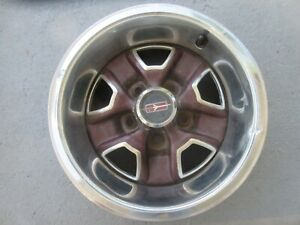Oldsmobile Cutlass 442 14x6 Wheel Free Shipping Stk 3