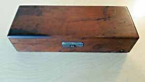 Beautiful Antique 1900 S Indiana Doctor S Medical Equipment Wooden Box Rare