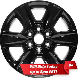 New Set Of 4 18 Gloss Black Alloy Wheels Rims For 2004 2018 Ford F150 F 150
