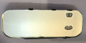 Vintage Rear View Mirror Clock For Antique Car New Haven Clock Co Made In Usa