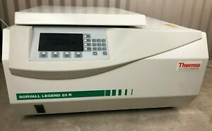 Thermo Scientific Sorvall Legend 23r Refrigerated Centrifuge W Rotor Warranty