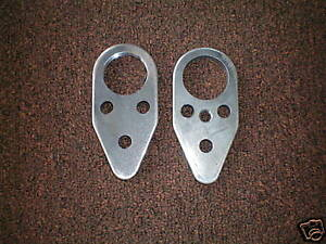 Ford Tractor 600 601 801 800 2000 4000 4 cyl Front Axle Bolster Support Plates