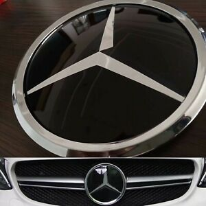 For Mercedes Benz C Class W205 Star Mirror Logo Emblem Star 2015 2018