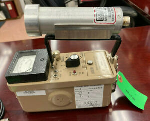 Ludlum Model 3 Geiger Counter With Model 44 7 Probe Just Calibrated March 2020