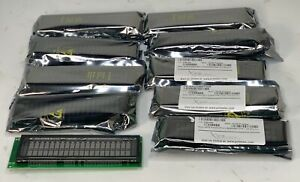 Lot Of 10 Futaba Na202md13aa 20x2 Lcd Character Display Units Nos