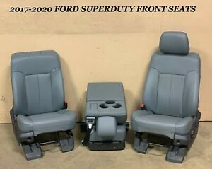 2017 2020 Ford Superduty F250 F350 Front Seats Left Right Seat Center Jump Seat