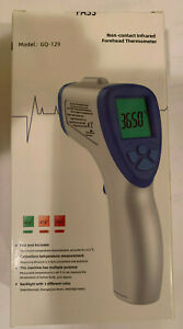 Infrared Digital Forehead Fever Thermometer Non contact Baby Adult Body Fda