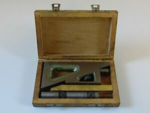 Vintage Helios Planer Gage Made In Germany With Box