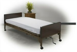 New In Box Dalton Medical Semi Electric Hospital Bed With Mattress