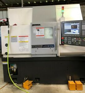 2017 Okuma Genos L200e my Cnc Lathe With Live Tooling And Y axis