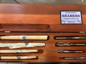 Nibgenuine Critchley Expansion Reamers Chadwick Trefethen In Vintage Wood Case