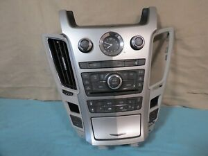 08 13 Cadillac Cts Climate Control Xm Radio Cd Aux Player Panel Oem 25895233