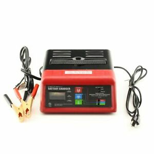 10 amp Battery Charger W 50 amp Starting Assist Automatic Trickle Charge