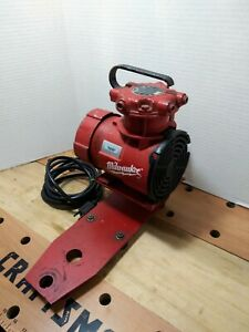 Milwaukee Vacuum Pump 49 50 0160 For Dymodrill Core Drill Coring Rig
