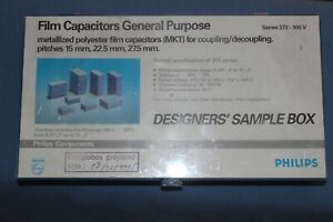 New Philips Metallized Polyester Film Capacitor Mkt Assortment Sample Kit