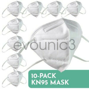 Kn95 Folding Respiratory Protective Face Mask 40 Pack 5 layers Kn95