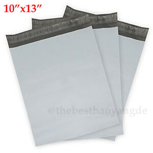 100 3000 10 x13 Plastic Shipping Bags Poly Mailers Package Envelopes Mailing Us