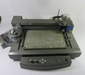 Roland Egx 30 Rotary Desktop Engraver 117vac 50 60hz 6a As Is