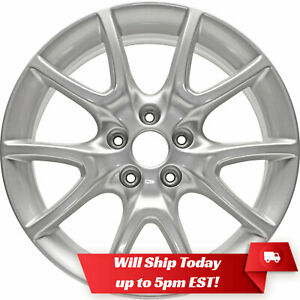 New 17 Replacement Alloy Wheel Rim For 2013 2016 Dodge Dart 2445 2481 Silver