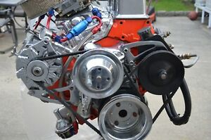 Chevrolet 350 325 Hp High Perf Turn Key Crate Engine Including Msd