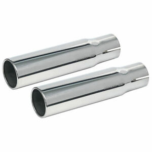 New 1969 Torino Gt Exhaust Tips 428cj Lh Rh Fastback Convertible Ford