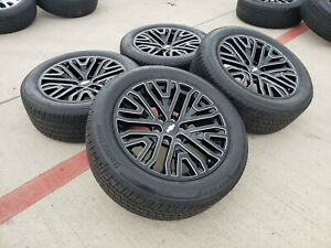 20 Gmc Sierra Denali Chevy Silverado 2019 2020 2021 Oem Wheels Rims Tires 5917