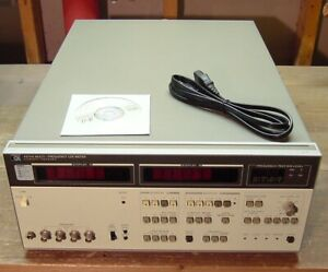 Hp Agilent 4274a Multi frequency Lcr Meter 100 Hz 100 Khz Tested Opt 003 101