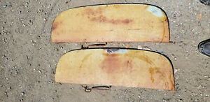1953 Pontiac Chieftain 4dr Rear Fender Skirts pair Lh rh Used Ad 8721