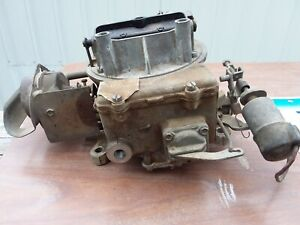 Autolite Two Barrel Carburetor D1yf Aa 1971 Ford Mercury 2100 For Parts